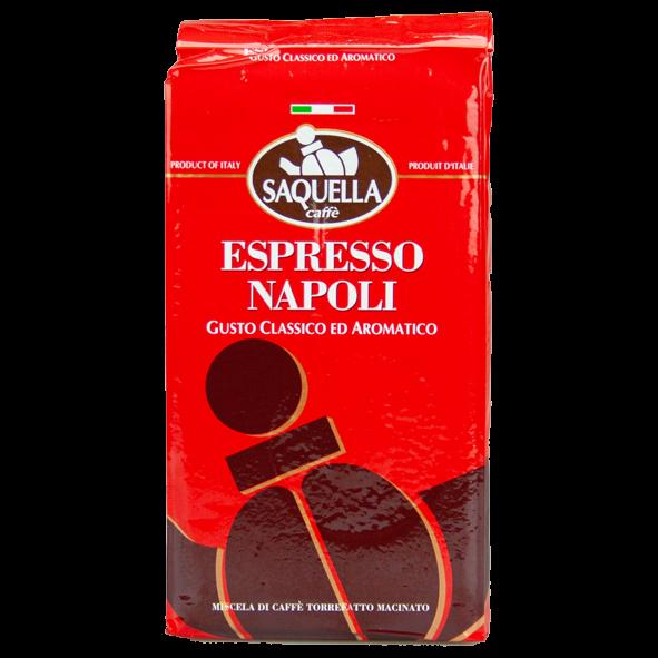 SAQUELLA Espresso Napoli, 250g gemahlen