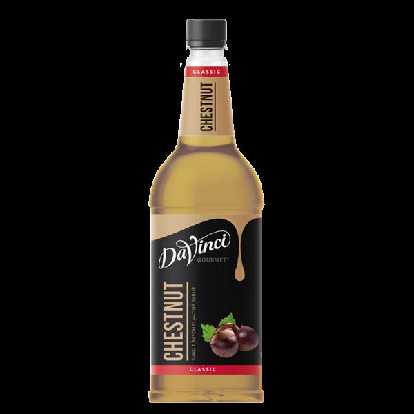 DaVinci Gourmet Sirup Classic Kastanie, 1,0L PET