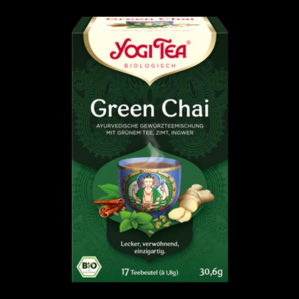 YogiTea Bio Green Chai