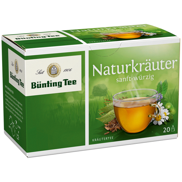 Bünting Tee Naturkräuter Classic