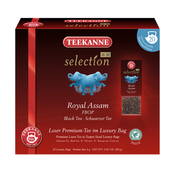 Teekanne selection Royal Assam, Luxury Bag
