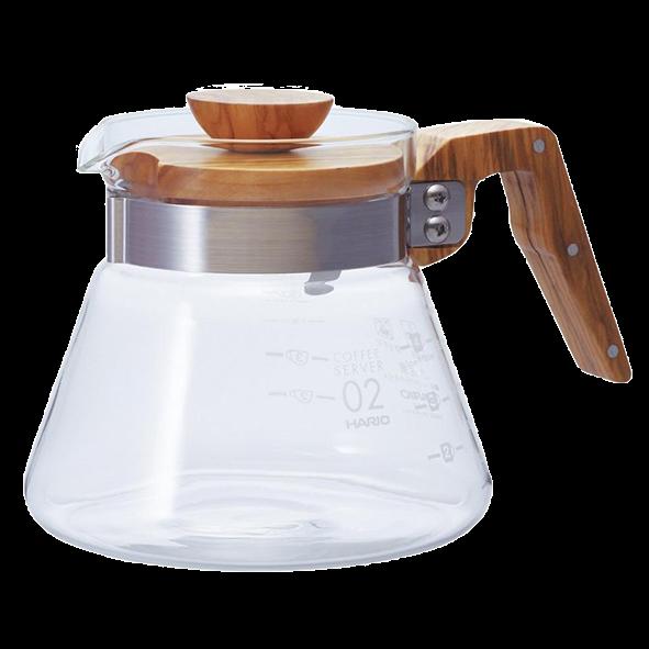 Hario Coffee Server Olivenholz, 600ml