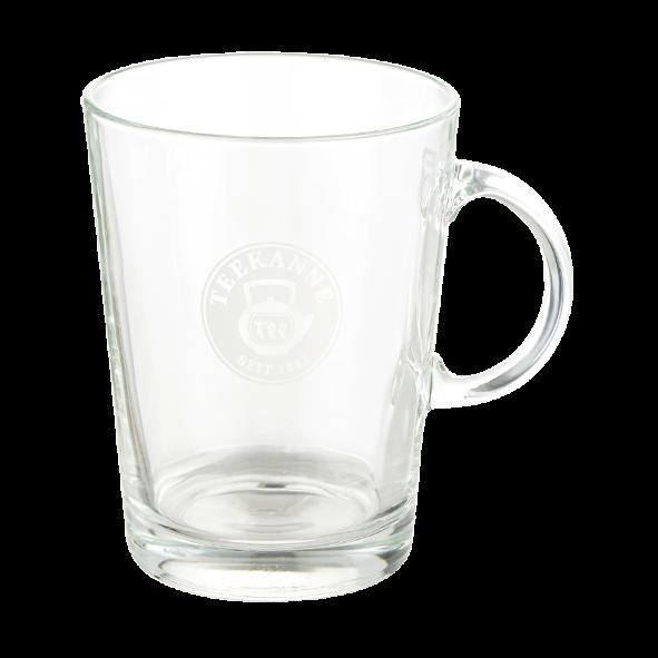 Teekanne Teeglas XL mit Henkel, 375 ml