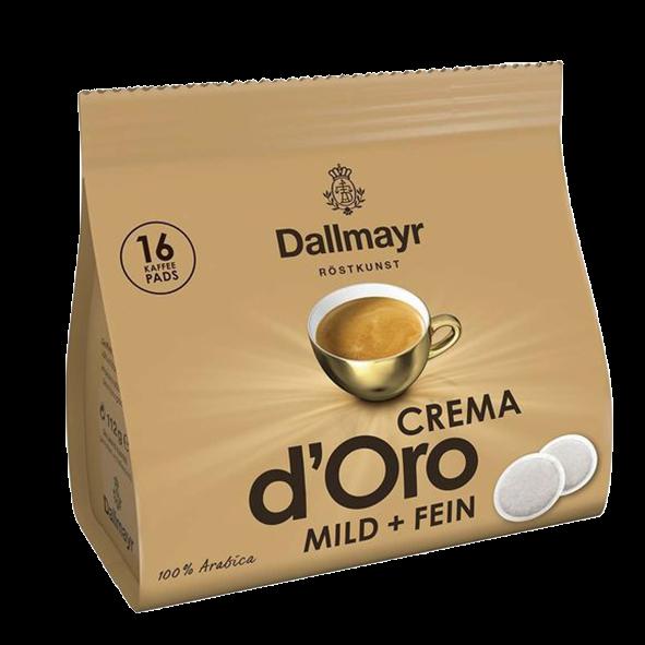 Dallmayr Crema d' Oro Mild & Fein, 16 Pads