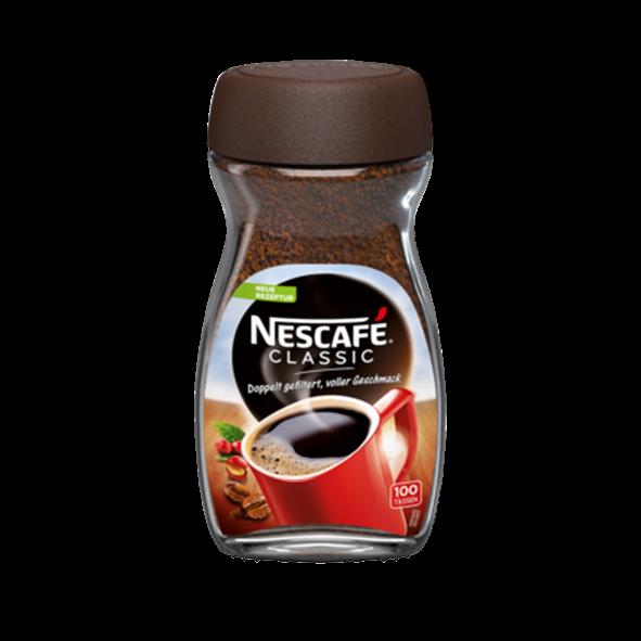 Nescafé Classic, Instant-Bohnenkaffee, 200g, 100 Portionen