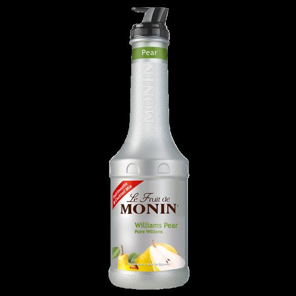 Monin Fruchtpüree Mix Williams Birne, 1,0 L