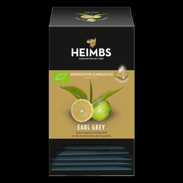 HEIMBS Bio Earl Grey, 20 Pyramidenbeutel