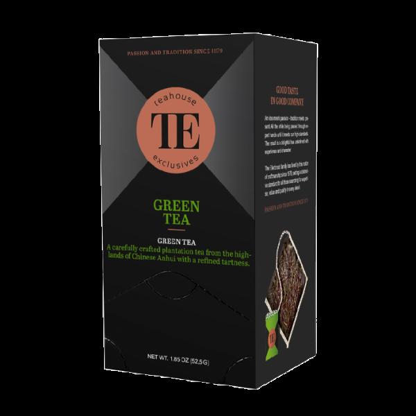 teahouse exclusives TE Green Tea, 15 Luxury Tea Bag