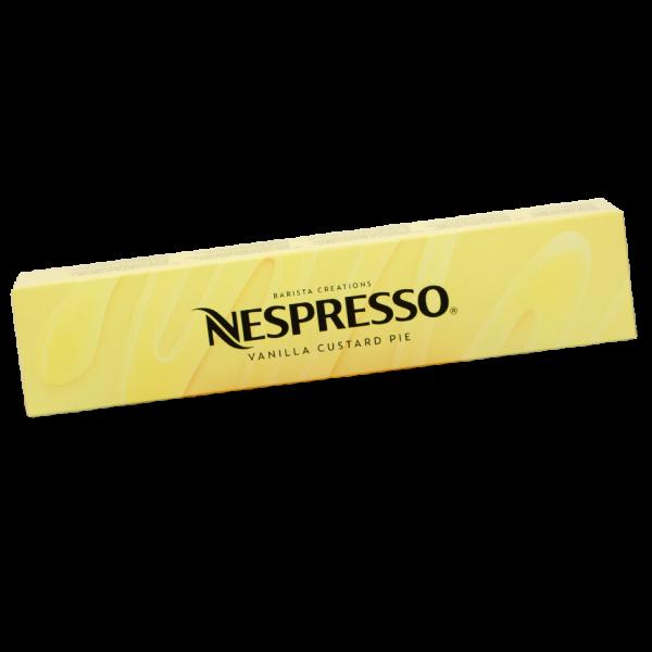 Nespresso* Vertuo Barista Vanilla Custard Pie