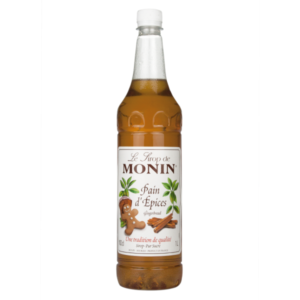 Monin Sirup Lebkuchen, 1,0L PET