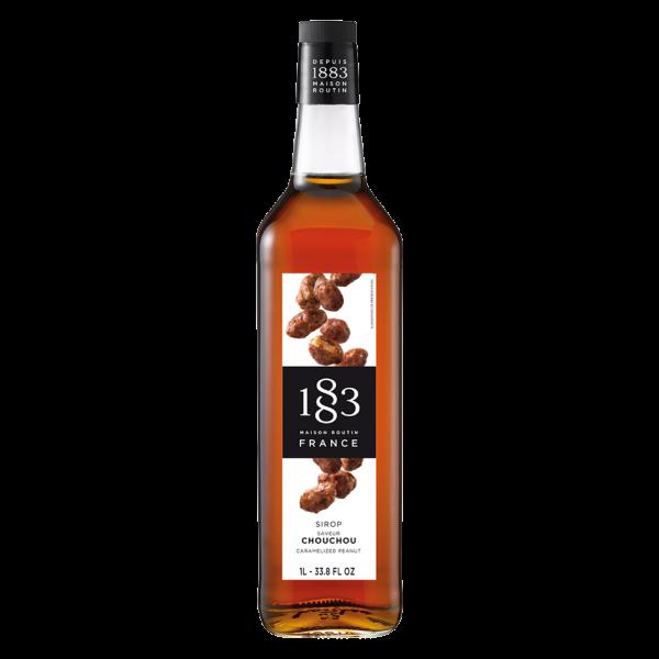 Maison Routin 1883 Sirup Karamellisierte Erdnüsse, 1,0L